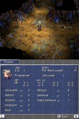 Final Fantasy III Nintendo DS Stats
