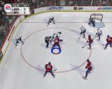 NHL 2005 Windows Face off at Vancouver defence zone