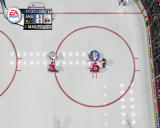 NHL 2004 Windows Face off from far above