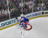 NHL 2004 Windows This player really wants that puck at all cost.
