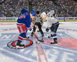NHL 2004 Windows Face off from really close