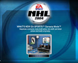 NHL 2004 Windows Loading screens also give you hints and tips.