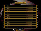 Supreme Warrior DOS High scores