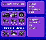 Battle Cars SNES Why would anyone in their right mind shop at Crazy Gramps...?