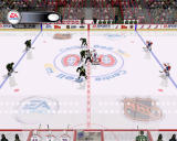NHL 2003 Windows Face off from broadcast camera