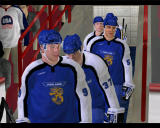 NHL 2003 Windows Team finland arrives at the arena.