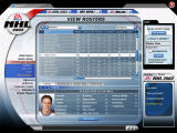 NHL 2003 Windows You can view each players stats.