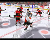 NHL 2003 Windows Players ready to start 1st period.