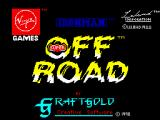 Ivan 'Ironman' Stewart's Super Off Road ZX Spectrum Loading screen