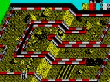 Ivan 'Ironman' Stewart's Super Off Road ZX Spectrum Track one