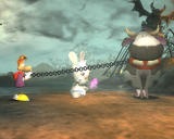 Rayman Raving Rabbids Windows Make that cow fly.