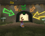 Rayman Raving Rabbids Windows Doorway to the testing area
