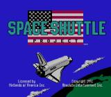 Space Shuttle Project  NES Title Screen