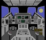 Space Shuttle Project  NES Inside the cockpit ready for launch 10…9…