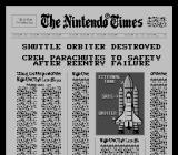 Space Shuttle Project  NES Not such a good landing, at least the crew is safe.