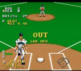 Ken Griffey Jr Presents Major League Baseball SNES Another heart breaking (and bat breaking) strike out.