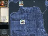 Women's Murder Club: Death in Scarlet Windows Map with locations