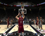 NBA Live 08 Windows Free throw.View from behind.