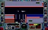 Fire Hawk: Thexder - The Second Contact DOS Flying in plane mode (EGA)
