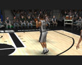 NBA Live 08 Windows Player receiving the basketball