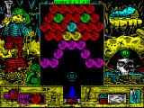 Cannon Bubble ZX Spectrum Level 4