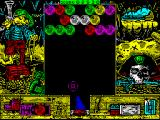 Cannon Bubble ZX Spectrum Level 5