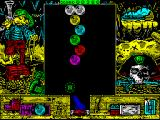 Cannon Bubble ZX Spectrum Level 2