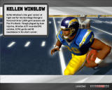 Madden NFL 07 Windows Kellen Winslow in loading screen