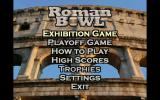 Roman Bowl Windows Main menu.