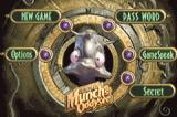Oddworld: Munch's Oddysee Game Boy Advance Main menu