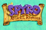 Spyro: Attack of the Rhynocs Game Boy Advance Title screen