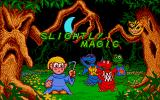 Slightly Magic Atari ST Title screen