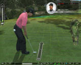 Tiger Woods PGA Tour 07 Windows Tiger Woods putting.