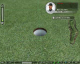 Tiger Woods PGA Tour 07 Windows This is your target. Put the ball in the hole.