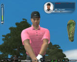 Tiger Woods PGA Tour 07 Windows Tiger Woods from below