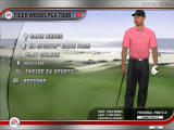 Tiger Woods PGA Tour 07 Windows Main menu