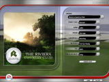 Tiger Woods PGA Tour 07 Windows Course selection screen