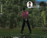 Tiger Woods PGA Tour 07 Windows Tiger Woods practising.