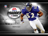Madden NFL 2005 Windows Title screen