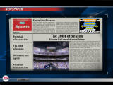 Madden NFL 2005 Windows Newspaper in Franchise mode