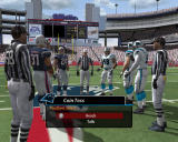 Madden NFL 2005 Windows Coin toss before the match begins.