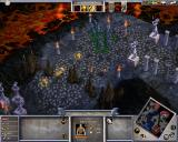 Age of Mythology Windows Only heroes can pick up artefacts and deploy them in a temple.