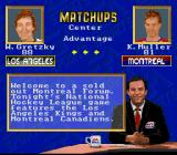 NHL '94 SNES EA Sports' fictitious personality Ron Barr gives you the goods on who's playing well and who needs to pick it up.