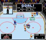 NHL '94 SNES The Flames notch one against their rivals in the Battle of Alberta!