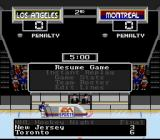 NHL '94 SNES During intermissions, the game will flash up randomly generated scores from other action in the league, and even sometimes show you a highlight or two.