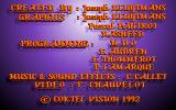 The Prophecy DOS Some game credits