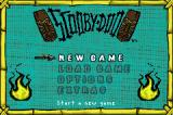 Scooby-Doo Game Boy Advance Title screen