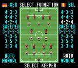 Super Soccer SNES Are you an offensive or defensive type? Adjust your formation accordingly.