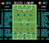 Super Soccer SNES Players have fantasy names.