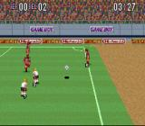 Super Soccer SNES Throw in